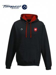 mas black red hoodie